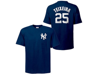New York Yankees Mark Teixeira Majestic MLB Youth Player T-Shirt