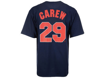 Minnesota Twins Rod Carew Majestic MLB Men's Cooperstown Player T-Shirt