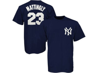 New York Yankees Don Mattingly Majestic MLB Men's Cooperstown Player T-Shirt