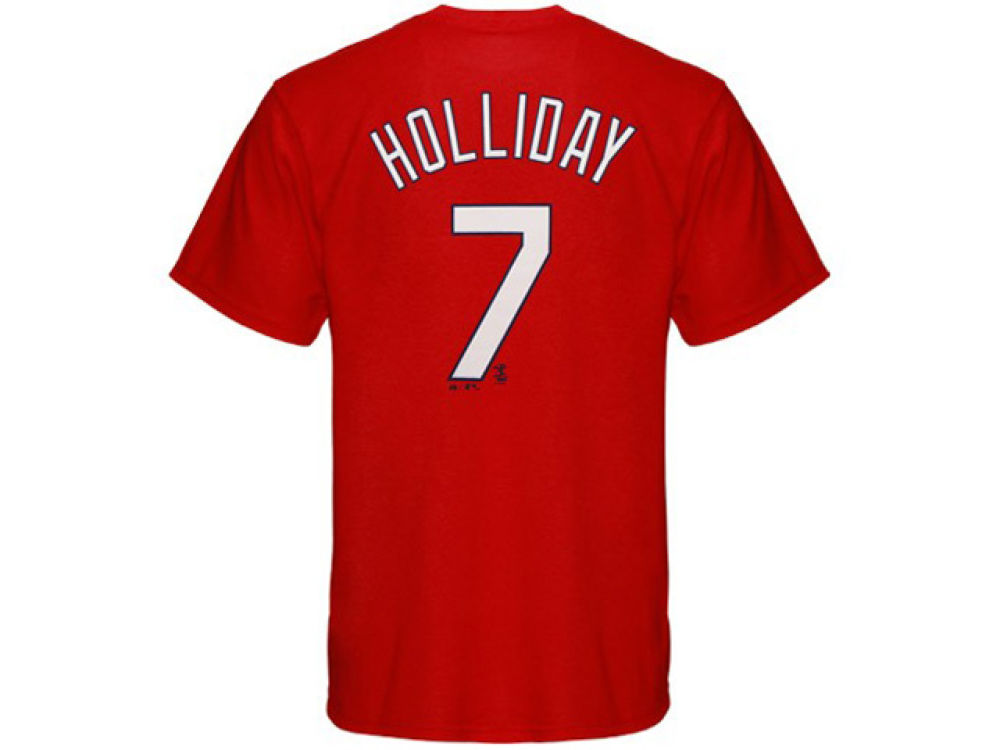 St. Louis Cardinals Matt Holliday Majestic MLB Youth Player T-Shirt ... 27d235e7a