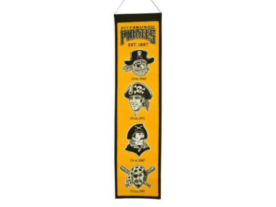 Pittsburgh Pirates Winning Streak Heritage Banner