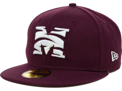 Morehouse Maroon Tigers New Era NCAA AC 59FIFTY Cap