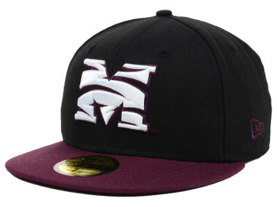 Morehouse Maroon Tigers New Era NCAA 2 Tone 59FIFTY Cap
