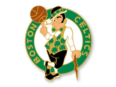 Boston Celtics Logo Pin