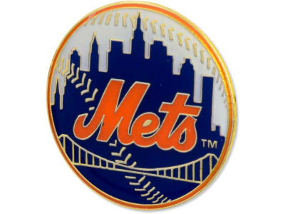 New York Mets Logo Pin