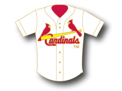 St. Louis Cardinals Aminco Jersey Pin