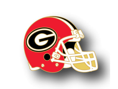 Georgia Bulldogs Helmet Pin