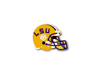 LSU Tigers Aminco Helmet Pin