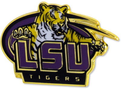 LSU Tigers Logo Pin