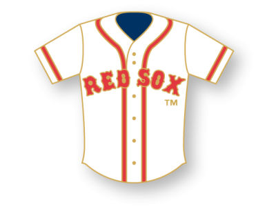 Boston Red Sox Aminco Jersey Pin