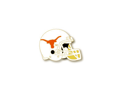 Texas Longhorns Helmet Pin