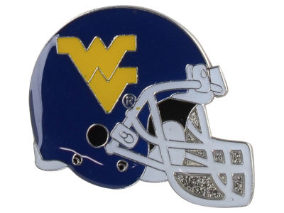 West Virginia Mountaineers Helmet Pin
