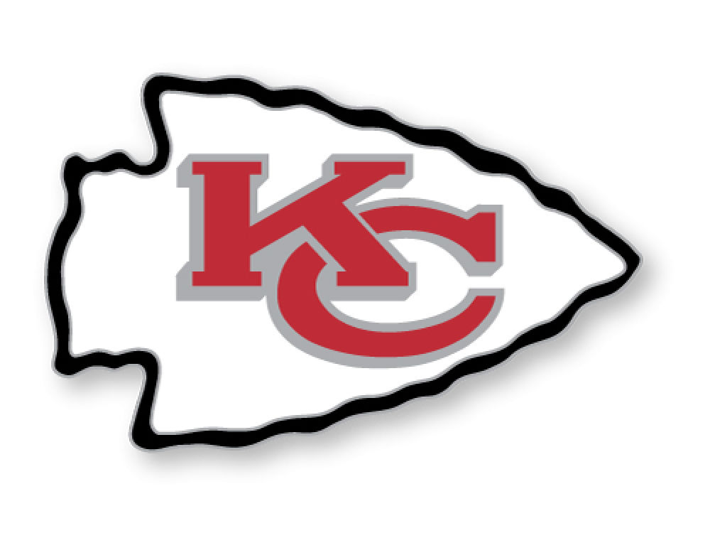 Kansas City Chiefs Logo Pin Lids