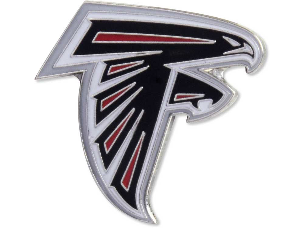 Atlanta Falcons Logo Pin Lids