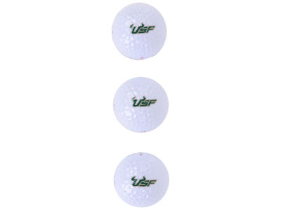 South Florida Bulls 3-pack Golf Ball Set