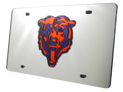 Chicago Bears Acrylic Laser Tag