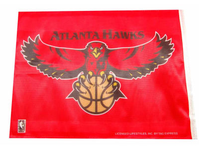 Atlanta Hawks Car Flag