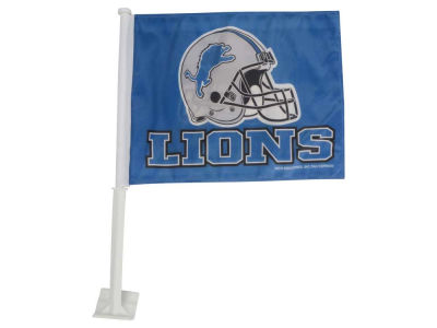 Detroit Lions Car Flag