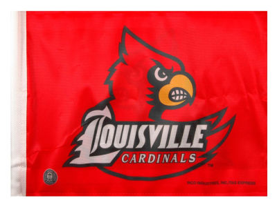 Louisville Cardinals Car Flag