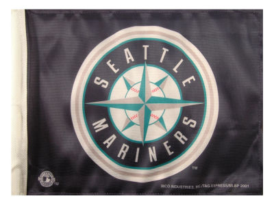 Seattle Mariners Rico Industries Car Flag