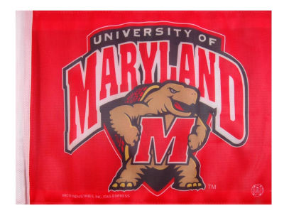 Maryland Terrapins Car Flag