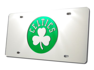 Boston Celtics Acrylic Laser Tag