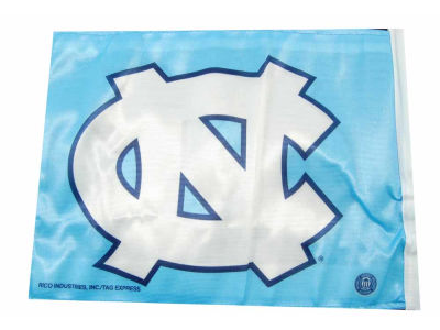 North Carolina Tar Heels Car Flag