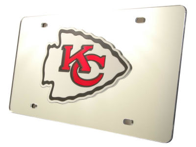 Kansas City Chiefs Acrylic Laser Tag