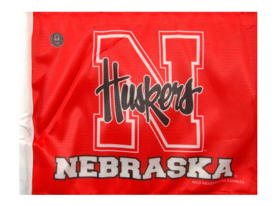 Nebraska Cornhuskers Car Flag