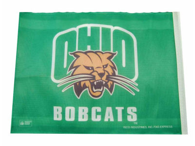 Ohio Bobcats Car Flag