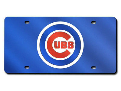 Chicago Cubs Acrylic Laser Tag