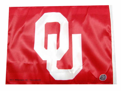 Oklahoma Sooners Car Flag