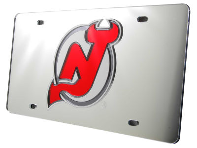 New Jersey Devils Acrylic Laser Tag