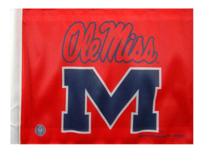 Ole Miss Rebels Car Flag
