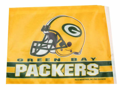 Green Bay Packers Car Flag