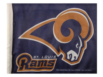 St. Louis Rams Car Flag