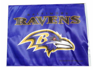 Baltimore Ravens Car Flag