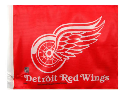 Detroit Red Wings Car Flag