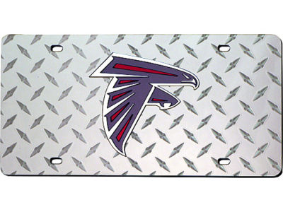 Atlanta Falcons Diamond Acrylic Laser Tag