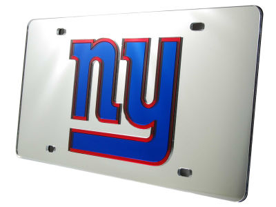 New York Giants Acrylic Laser Tag