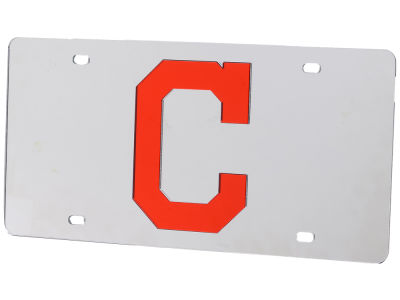 Cleveland Indians Acrylic Laser Tag