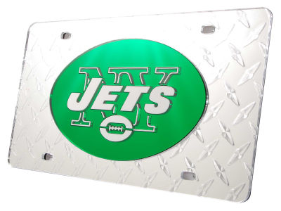 New York Jets Diamond Acrylic Laser Tag