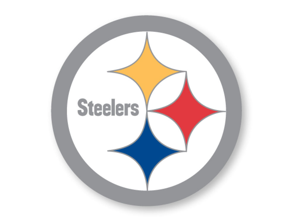 Pittsburgh Steelers Logo Pin Lids