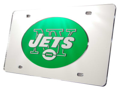 New York Jets Acrylic Laser Tag