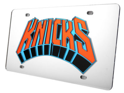 New York Knicks Acrylic Laser Tag