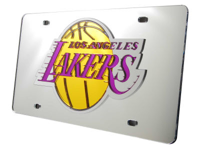 Los Angeles Lakers Acrylic Laser Tag