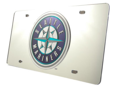 Seattle Mariners Acrylic Laser Tag