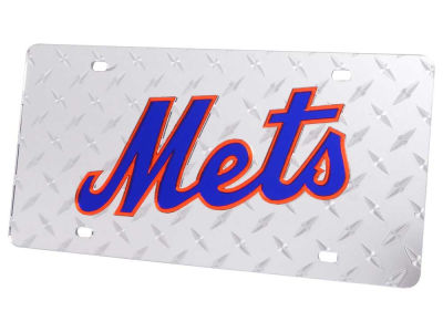New York Mets Diamond Acrylic Laser Tag