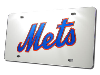 New York Mets Acrylic Laser Tag