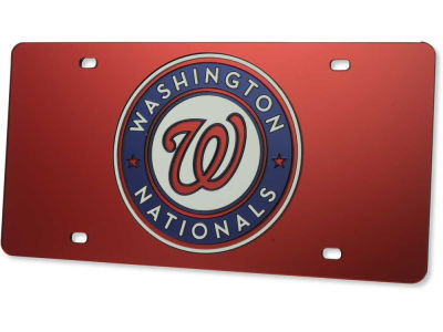 Washington Nationals Acrylic Laser Tag